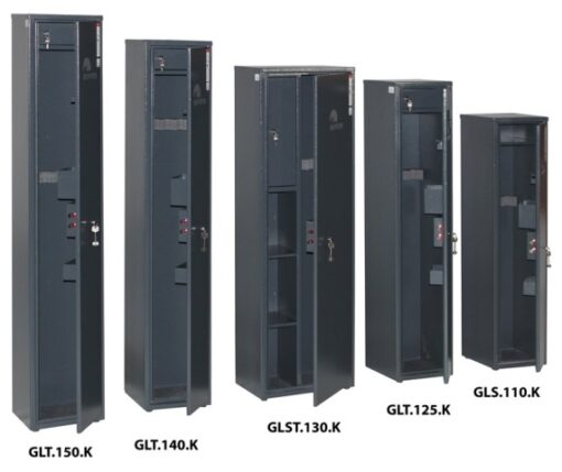 Модели оружейных сейфов GRIFFON GL