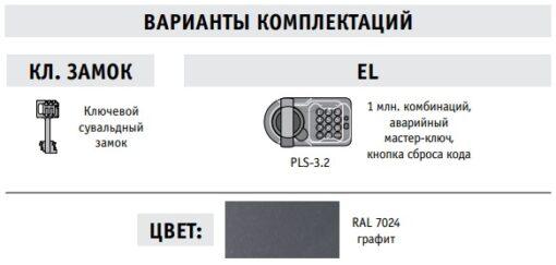 Варианты комплектаций серии AIKO TT