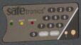 Клавиатура электронного кодового замка SAFEtronics