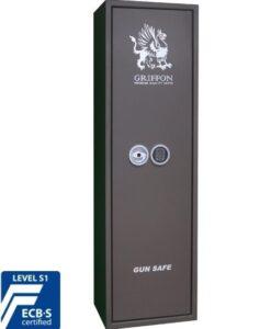 Оружейный сейф GRIFFON GE.450.E Brown