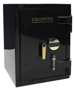 Огневзломостойкий сейф GRIFFON CL III.68.KE LUX GOLD