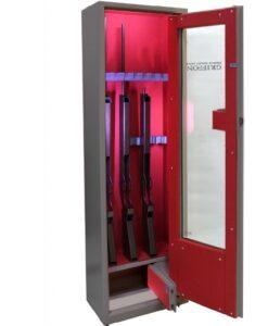 Оружейный сейф GRIFFON GG.500.L.E BROWN