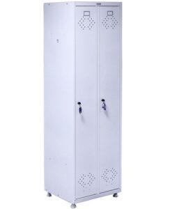 Медицинский шкаф для одежды МД2 ШМ SS