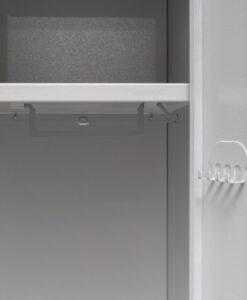 Одежный металлический шкаф СОШ 600-4 (800-4)